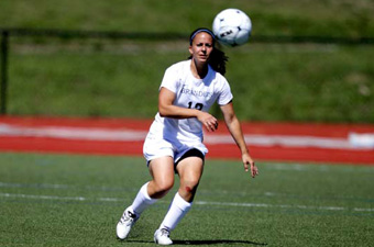 Seniors star as women's soccer routs Lesley, 10-0, in last home game of regular season