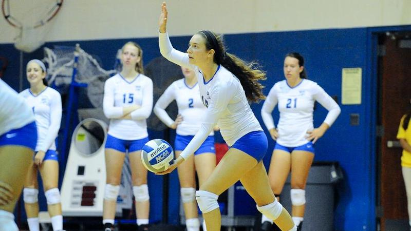 Volleyball Sweeps Robert Morris, 3-0