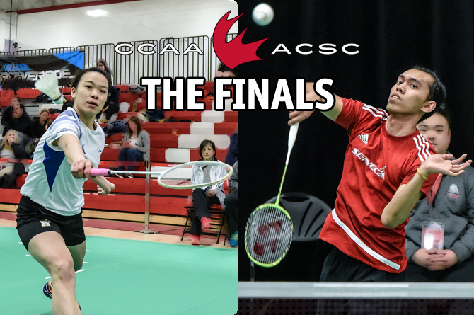 2017 CCAA Badminton: The Finals