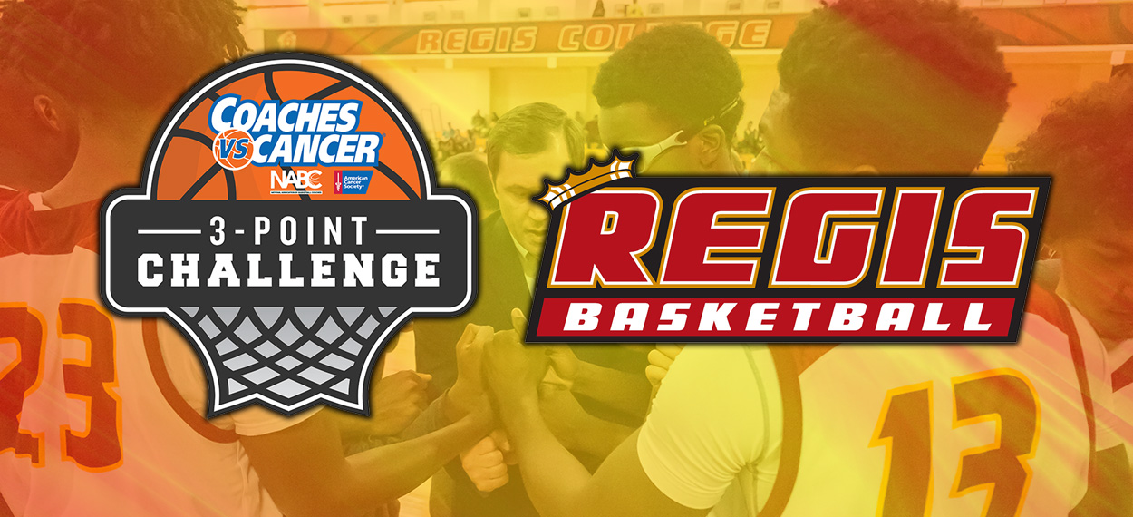 Men's Basketball Takes Part In Coaches Vs Cancer 3-Point Challenge