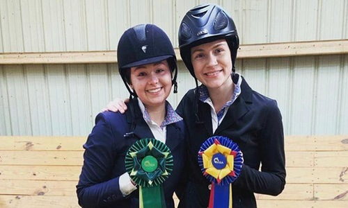 UMW Riding Sees Two Compete at Zone Show; Ianuzi Advances to IHSA Nationals