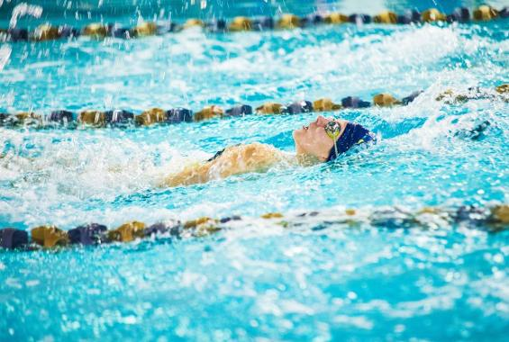 Women's Swimming Defeats Maritime, Falls to Sarah Lawrence in Double-Duel