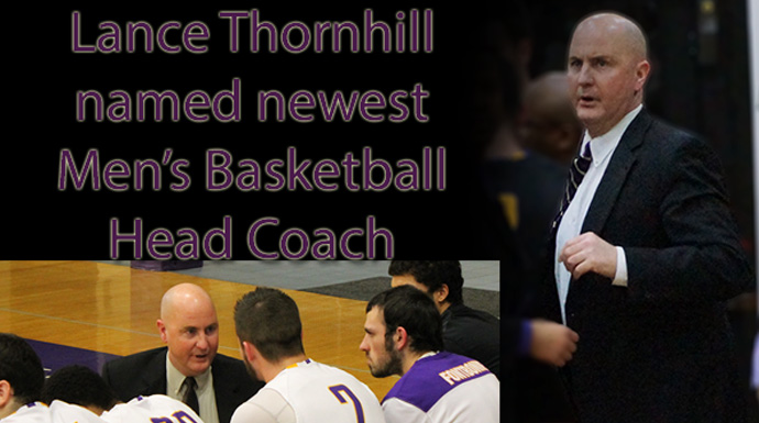 Thornhill Named Griffin Men's Basketball Head Coach