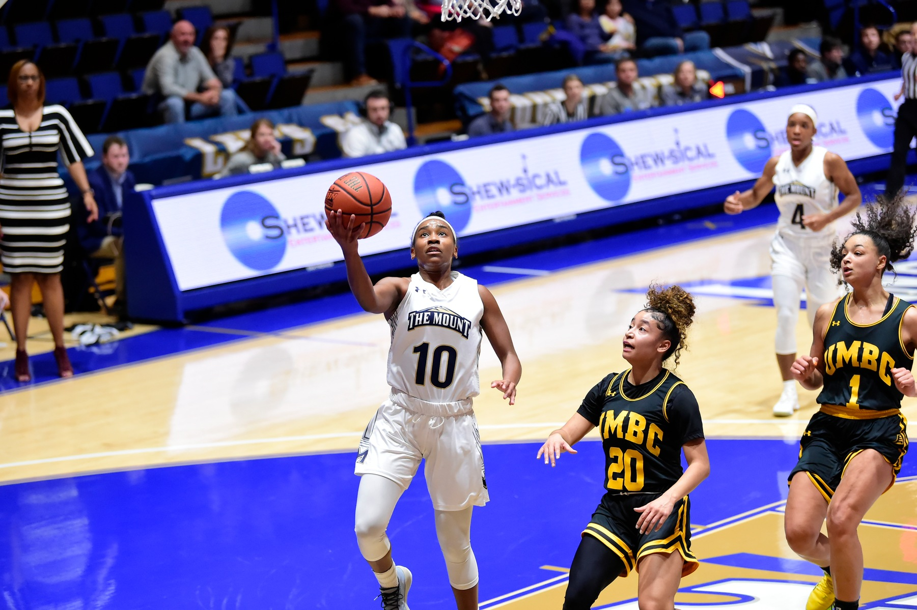 Mount St. Mary's Women's Basketball Holds on to Defeat Bryant on Saturday