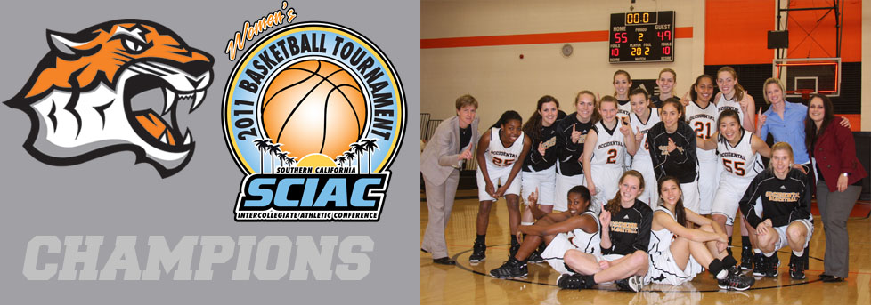 Tigers punch Playoff Ticket with SCIAC Post Season Tournament title