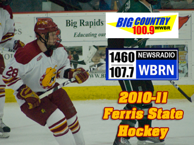 Radio Schedule Released For 2010-11 Ferris State Hockey Games