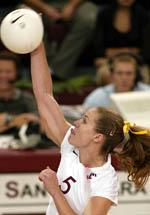 Volleyball's Season Ends with 3-2 Loss to Utah