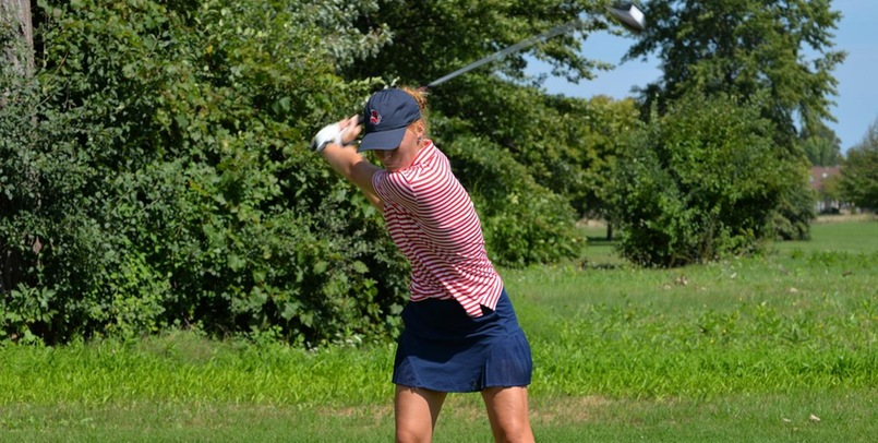 Women's Golf sits 6th after 18 holes at GLIAC Championships