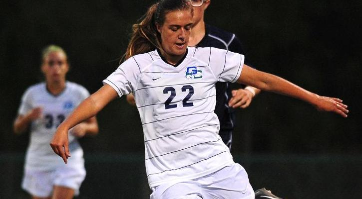Harman Nets First Career Goal in GC Soccer Loss to #17 CSU, 3-1