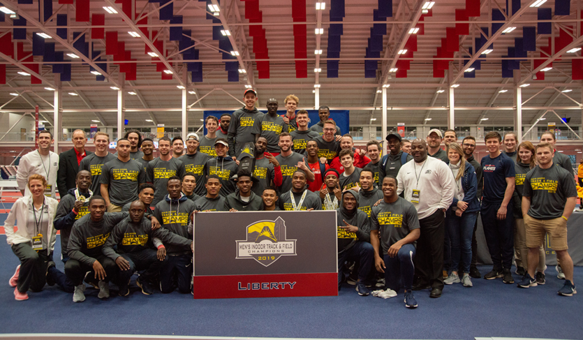Liberty Continues Conference Title Streak; Flames Win Nine Events