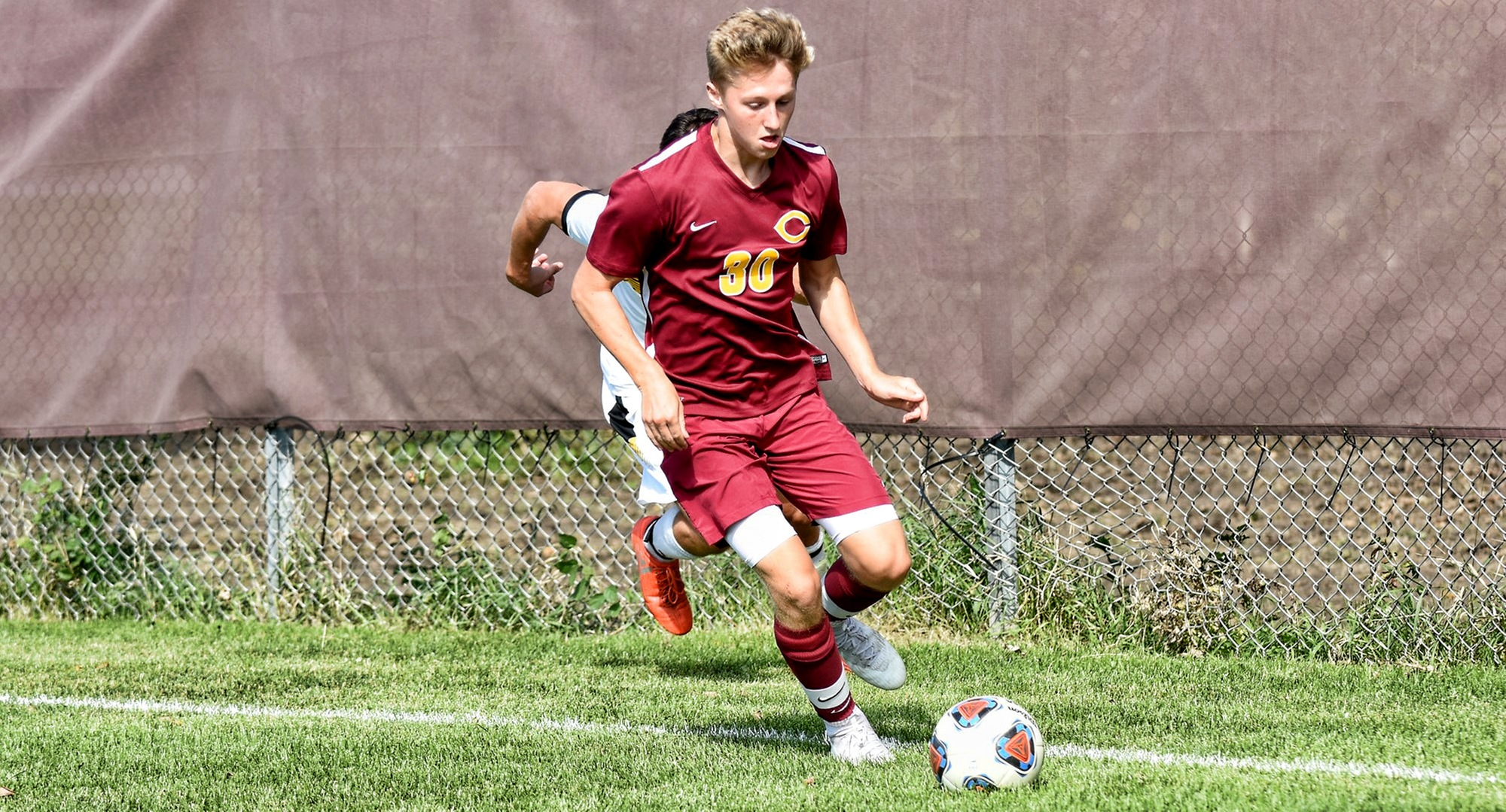 Freshman TJ Anderson scored a pair of goals, including the game winner, in the Cobbers' 4-2 win at Viterbo.