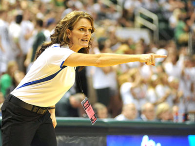 The Bulldogs will welcome Colleen Lamoreaux-Tate at a press conference on Tuesday (Photo Courtesy MLive.com & Grand Rapids Press)