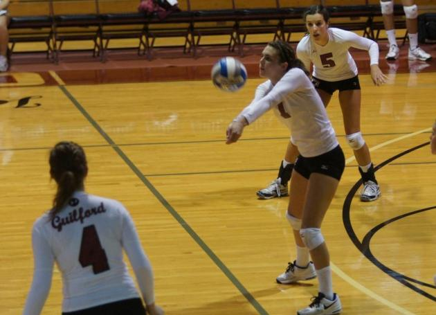 Quakers Drop Opening Two Matches at Averett Tournament