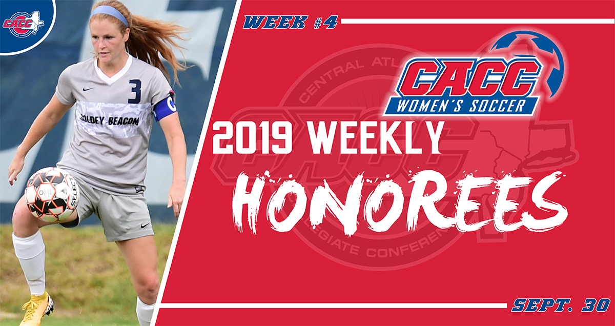 CACC Women's Soccer Weekly Honorees (Sept. 30)