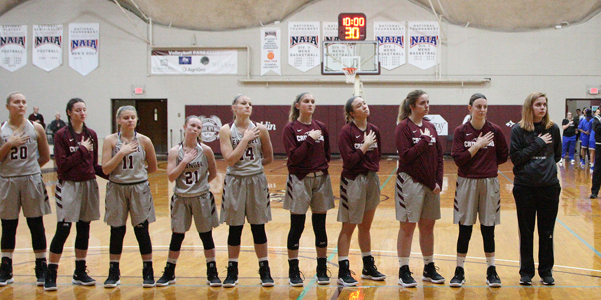 Evangel Women's Basketball Heads North to Take on Clarke