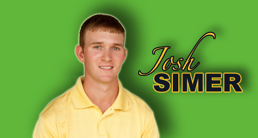 Golden Eagle golfer Josh Simer selected Academic All-America