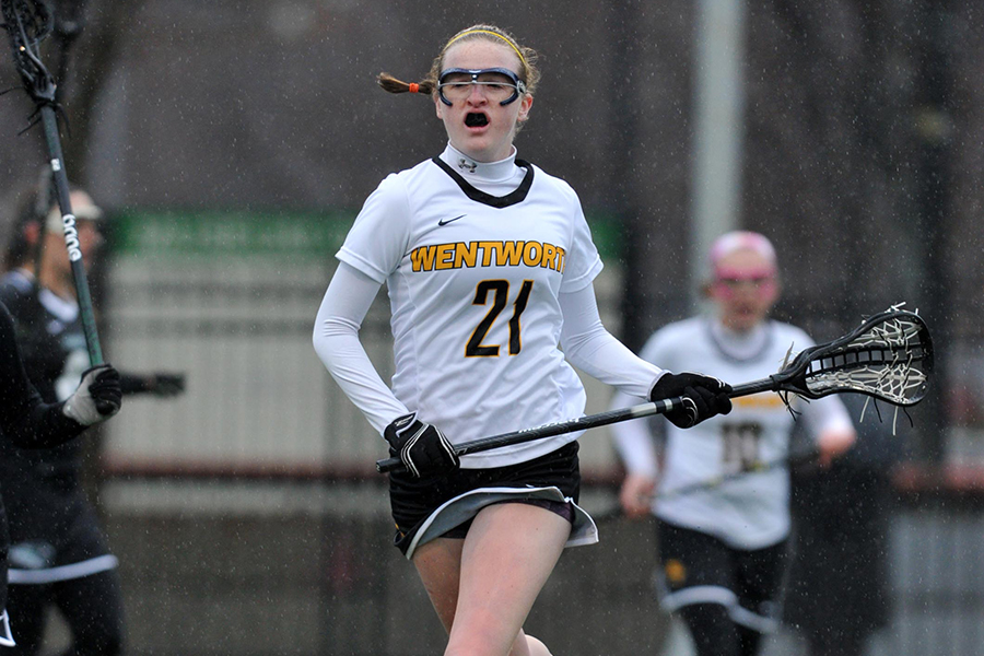 First Half Run Key in New England College's Win over Women's Lacrosse