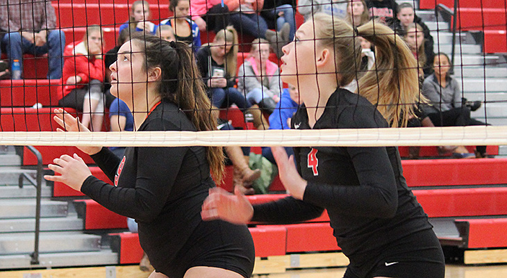 Split For Women's Volleyball On Day 1 At Cortland