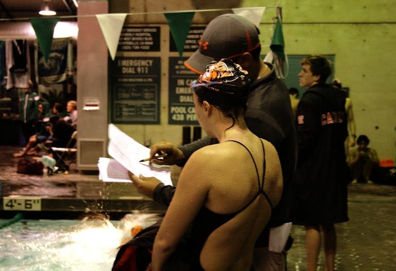 Ilic Leads Women's Swim/Dive With Four Scoring Swims at Invitational