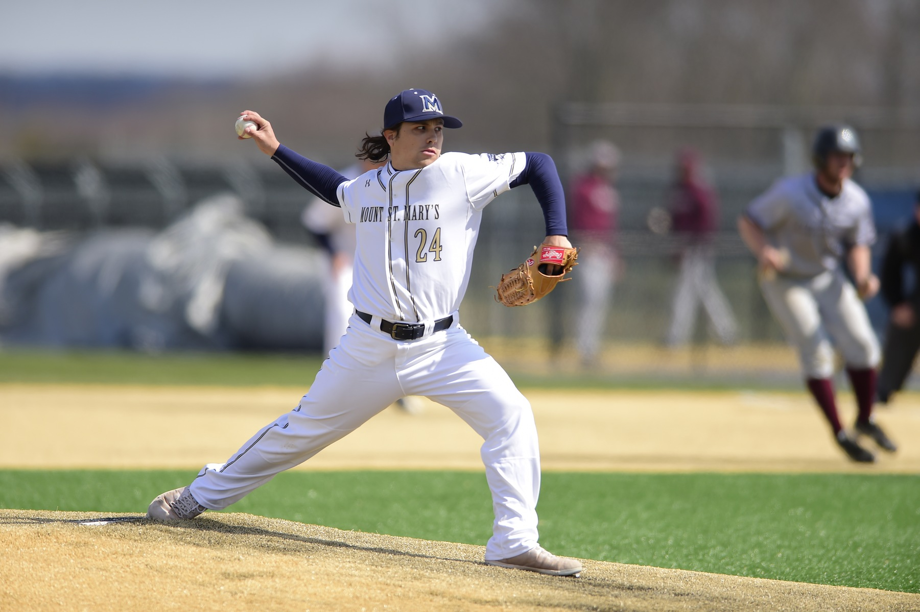 13 Hits Lead Mount Baseball Over Fairleigh Dickinson, 8-4, In The First Game Of The Series