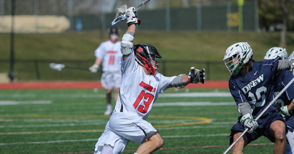 Men's Lacrosse Edged at Goucher, 6-5