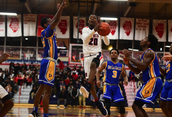 Wayne State recruit Alec Millender puts emphasis on getting teammates involved for St. Rita