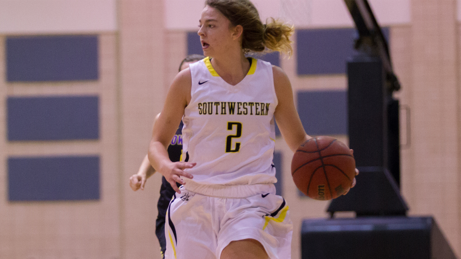 Carraway's Double-Double Lead Pirates Past Howard Payne