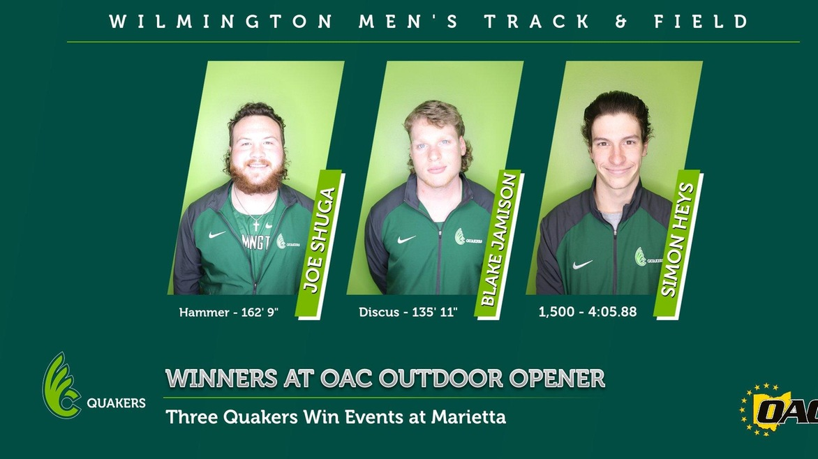 Men's Track & Field Takes 3rd in the First Outdoor Meet in 681 Days