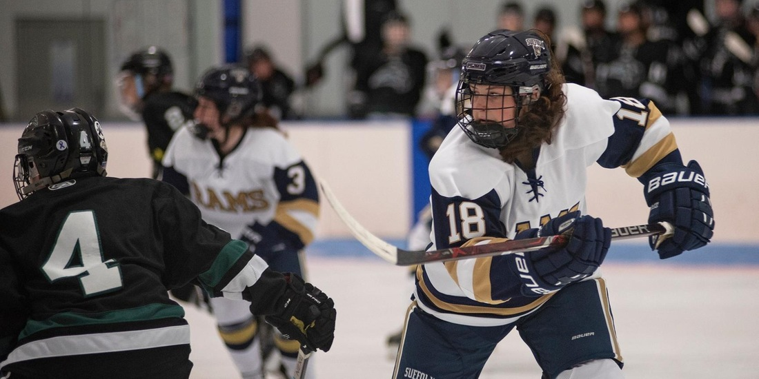 Women's Hockey Bests UMass Boston, 3-1