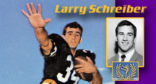Tech's Larry Schreiber on College Football Hall of Fame ballot