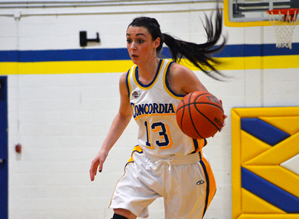 Clippers Women's Basketball Defeated in CACC Action at Chestnut Hill