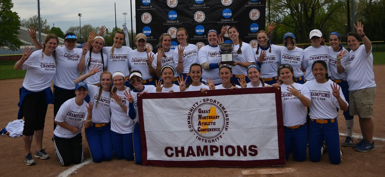 4 For 4! JWU Softball Defeats Suffolk 4-2 to Win Fourth GNAC Championship