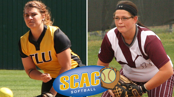 TLU's Leschber; Schreiner's Lutz Named SCAC Softball Players of the Week