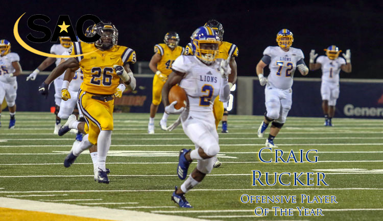 Rucker named SAC Offensive Player of the Year
