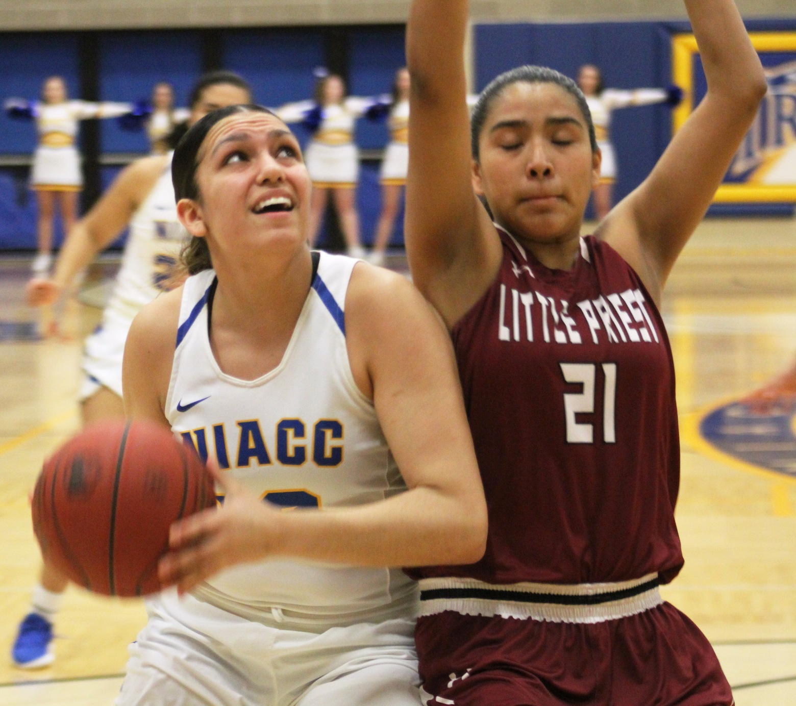 Autam Mendez led the Lady Trojans with 26 points and 16 rebounds on Wednesday.