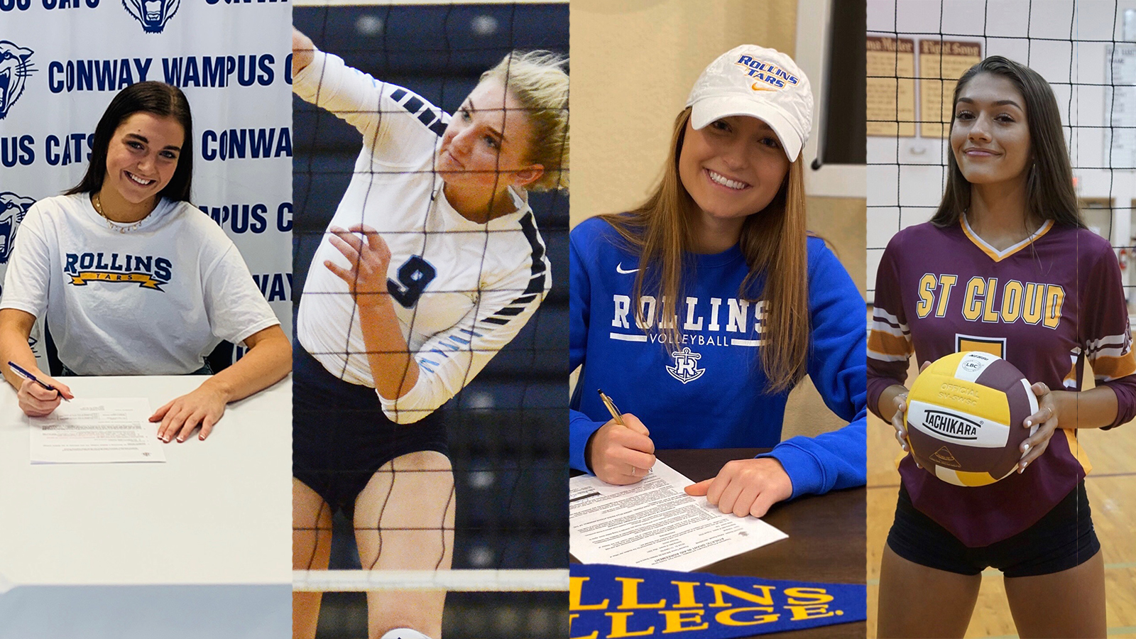 Volleyball Announces Four Signees