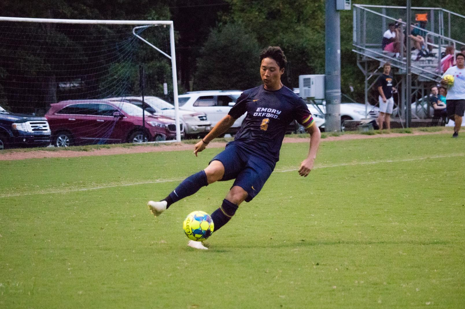 Men's Soccer Defeats Meridian 2-1, To Stay Undefeated