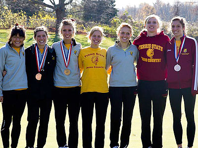 Women's CC Advances To NCAA-II Nationals!