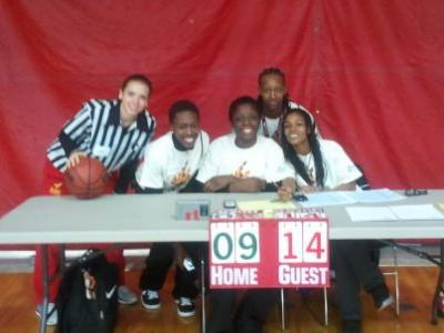 The University of the District of Columbia Women's Basketball Lends a Hand in the 2011 Special Olympics D.C. Annual Fall Sports Classic