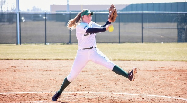 Lady Saints rally for walk-off win; sweep Conqs