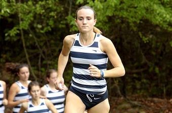Women's cross country placed 22nd at New England Women's Varsity Cross Country Championship
