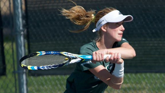 WOMEN'S TENNIS RETURNS TO CAMPUS, BLANKS UMBC 4-0