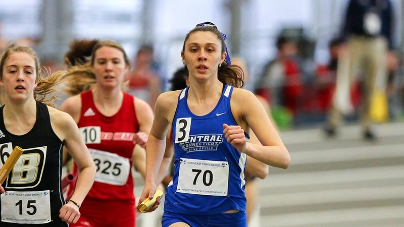 Women's Track & Field Has Strong Showing at CCSU Blue Devil Invite