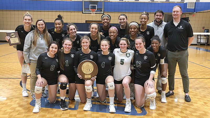 Women's Volleyball Captures Region X Championship
