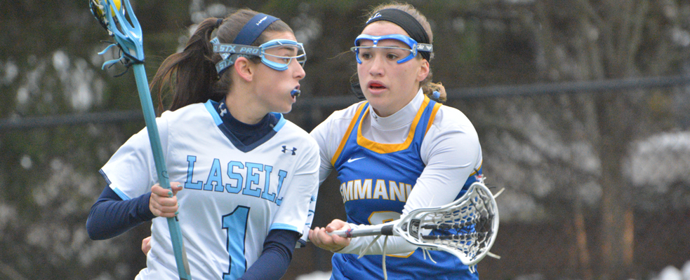 10 Players Score in 16-3 Women's Lacrosse Victory over Albertus