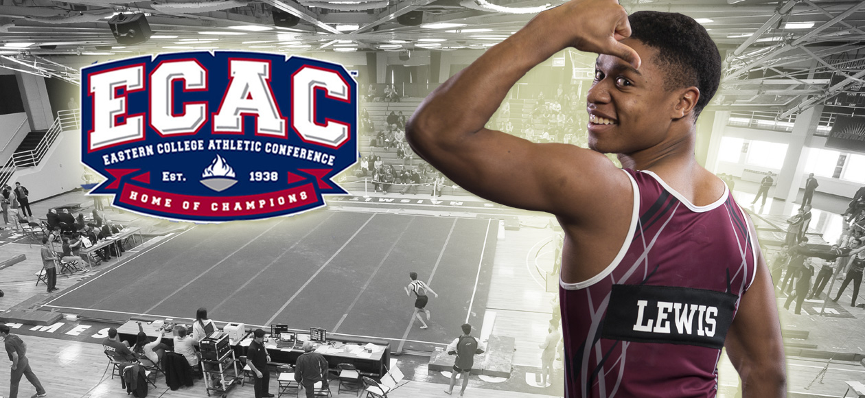 Lewis Earns Second-Straight ECAC Men's Gymnastics Rookie of the Week Honor