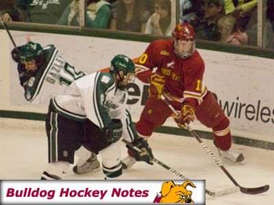 Weekly Notes Game 15: #19/20 Ferris State at Michigan State