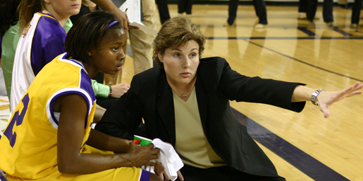 Amy Brown steps down as women's basketball coach