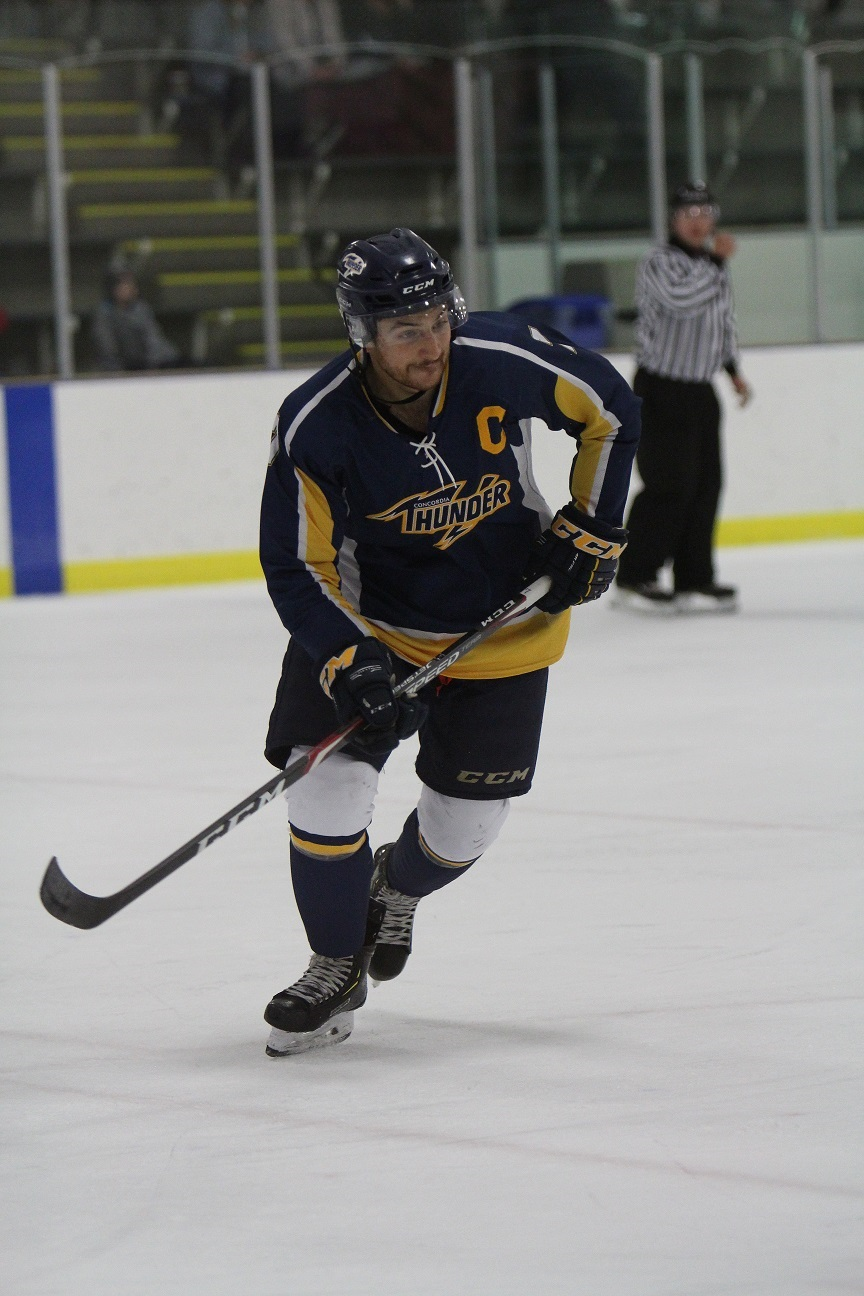Thunder Take Down Voyageurs In Home Opener