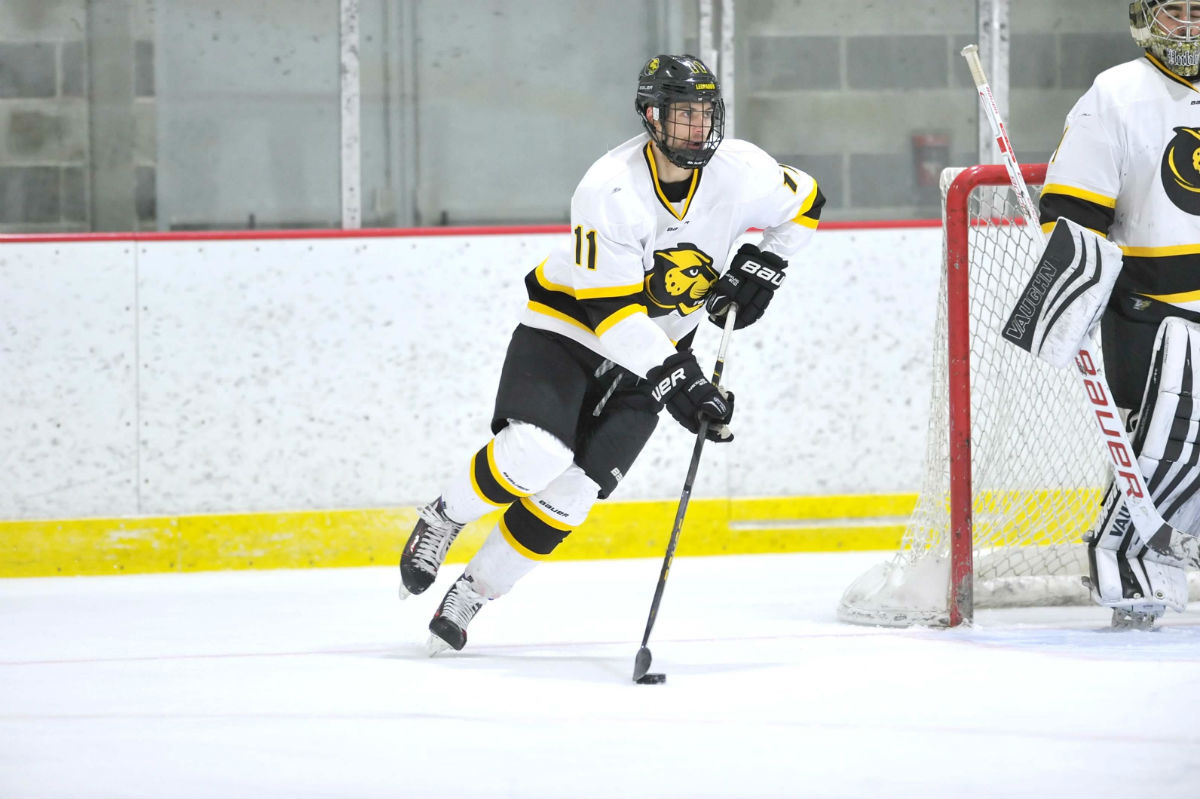 Hockey Wraps up First Semester With Loss at Suffolk